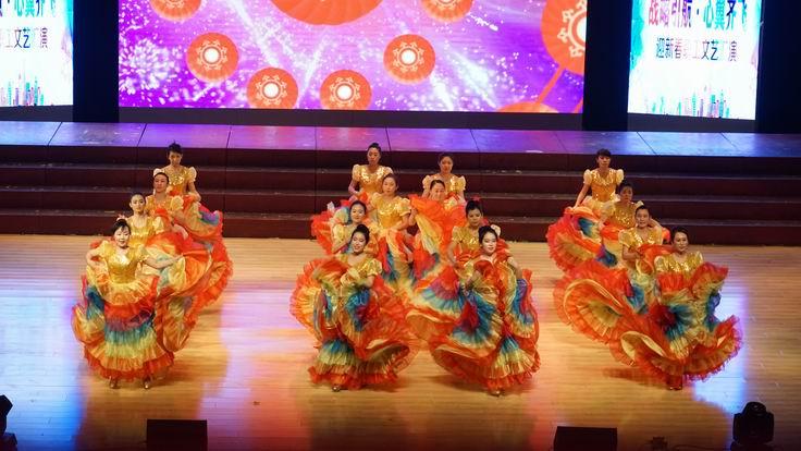 调整大小 水电集团二公司舞蹈表演《张灯结彩》.JPG