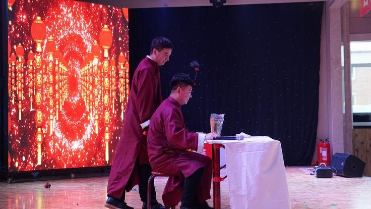 调整大小 第十分公司表演双簧《大实话》.JPG