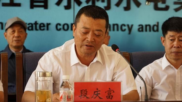 调整大小 10、工会主席段庆富宣布市政二级资质申办成功.JPG